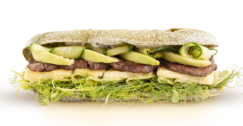 Фіт сендвіч Халумі Грін