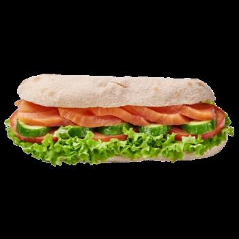 Фіт сендвіч з лососем