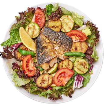 Салат з макреллю і картоплею
