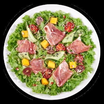 Салат з прошуто та гарбузом